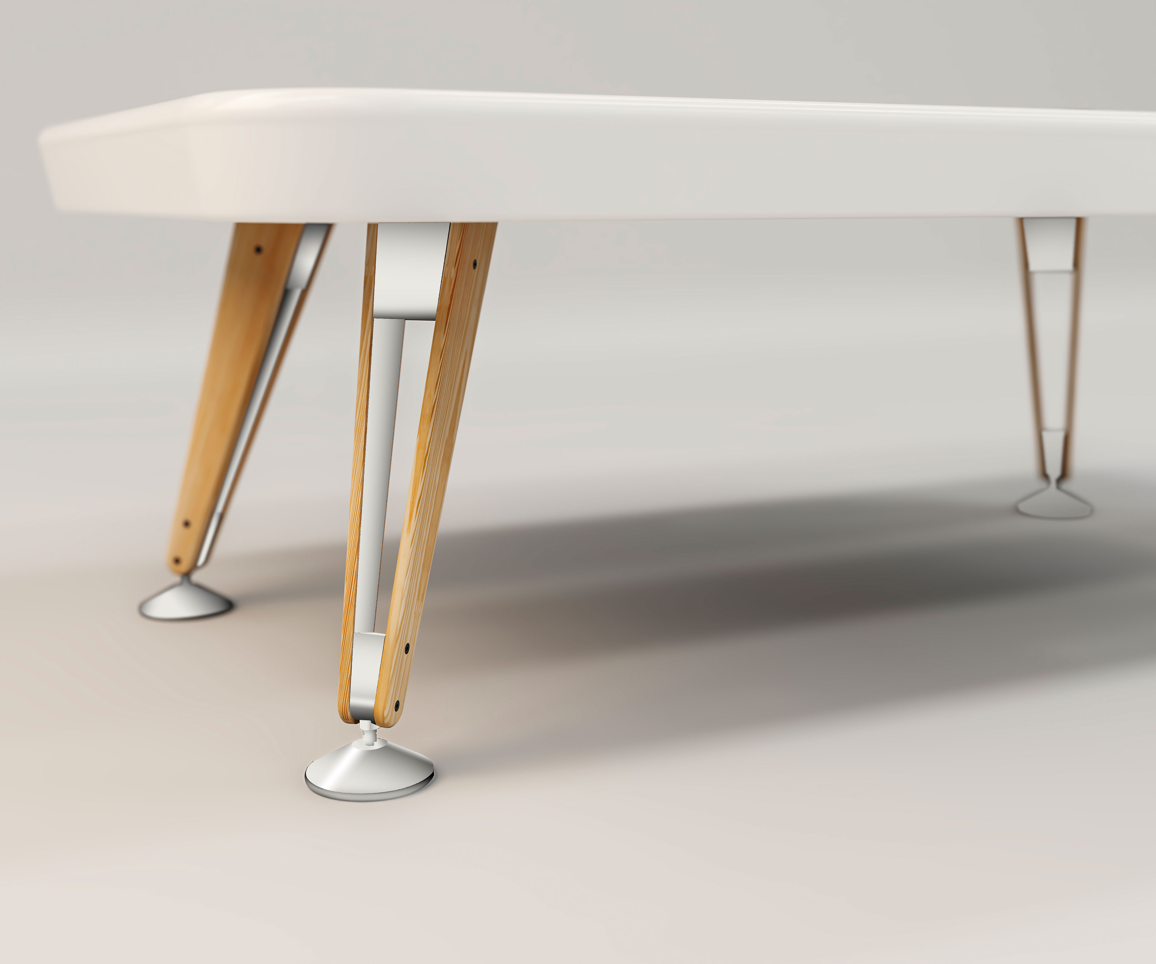 "Billardtisch ""Pool"" - Design Diagonal American 8Fuss von RS Barcelona"
