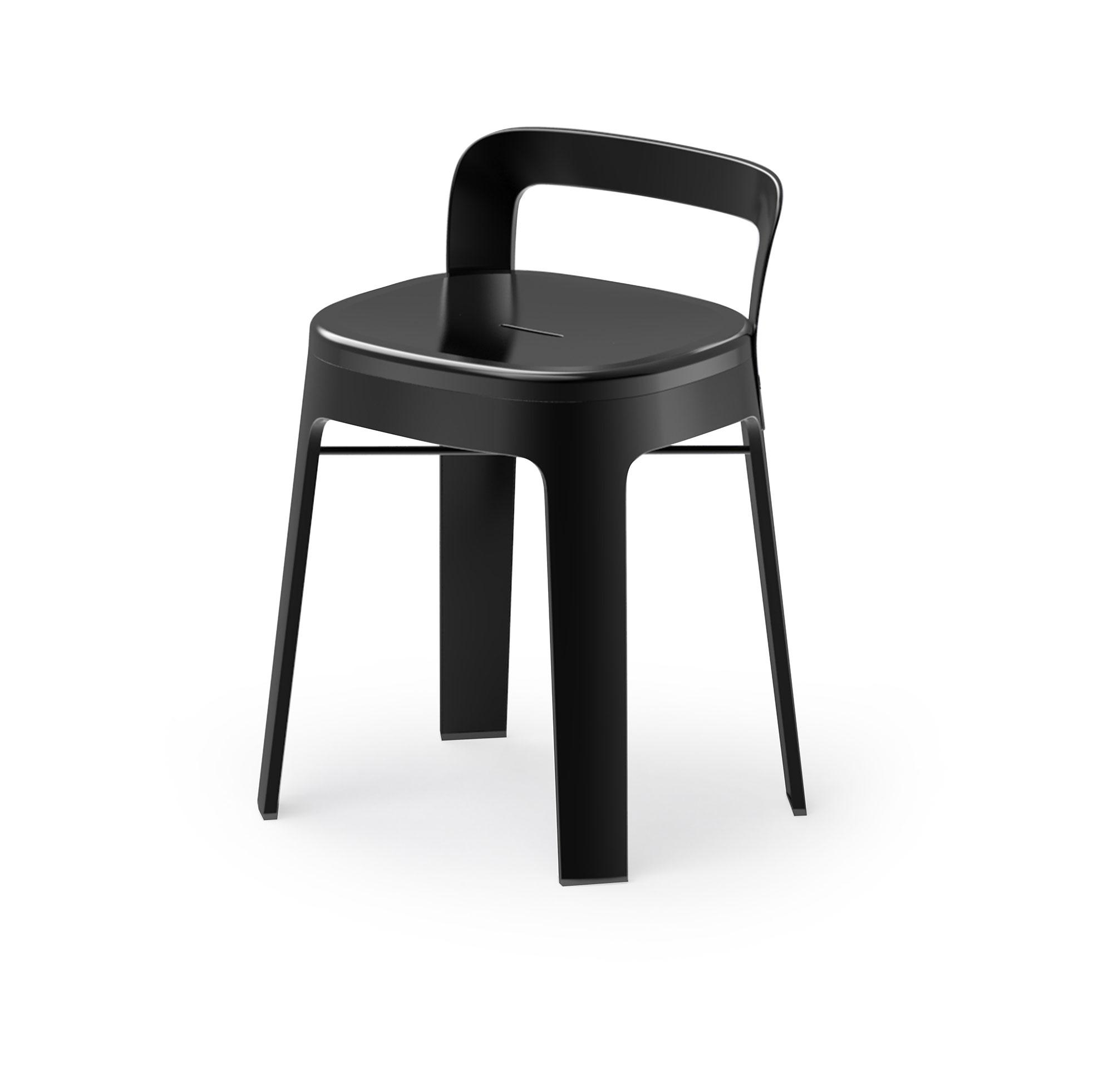 """Hocker mit Lehne """"To Go"""" - Design OMBRA LOW von RS Barcelona"""
