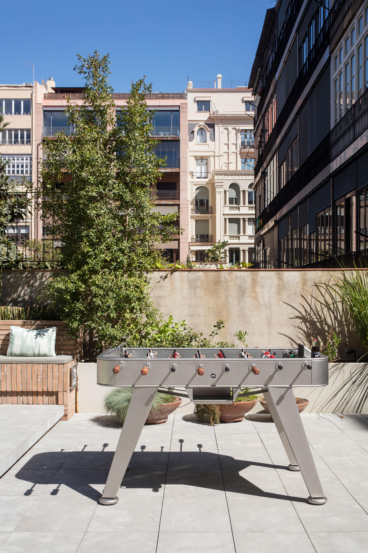 """Tischkicker """"Der Profi"""" - Design RS#2 von RS Barcelona (in- oder outdoor)"""