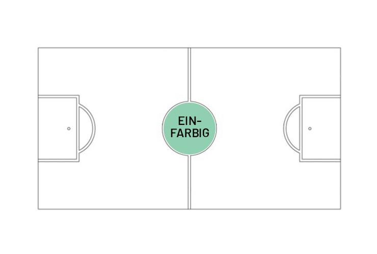 Mittelkreis  ca. 22.3 cm 1 Farbe