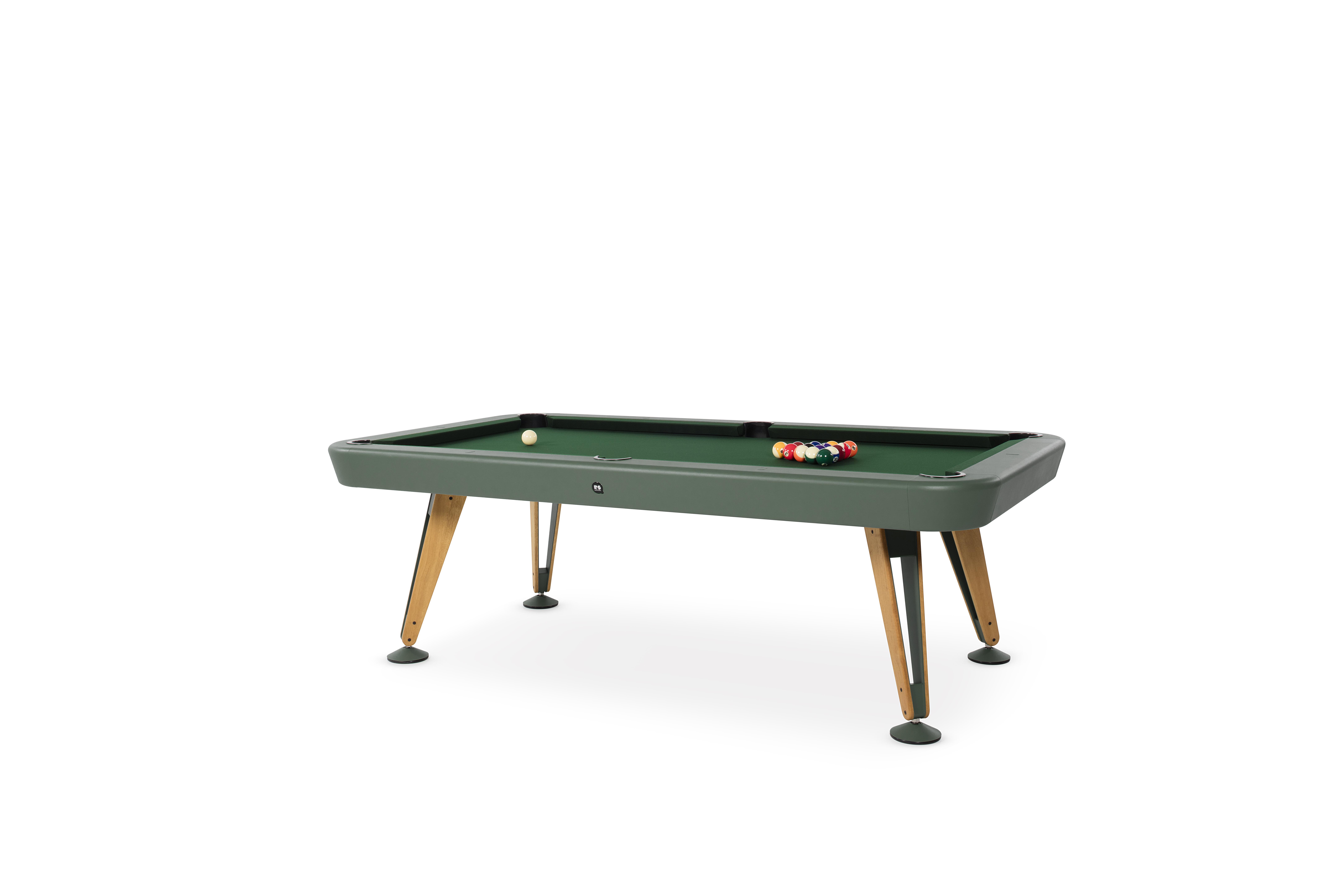 "Billardtisch ""Pool"" - Design Diagonal American 7Fuss von RS Barcelona (in- oder outdoor)"