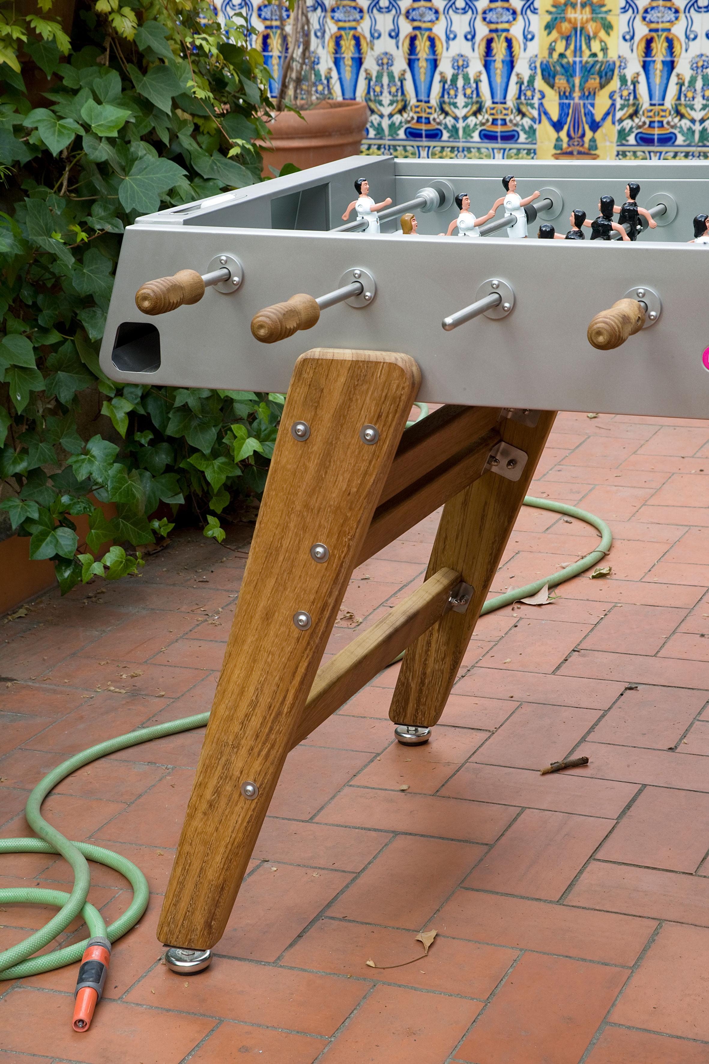 """Tischkicker """"Der Allrounder"""" - Design RS#3 Wood von RS Barcelona (in-&outdoor)"""