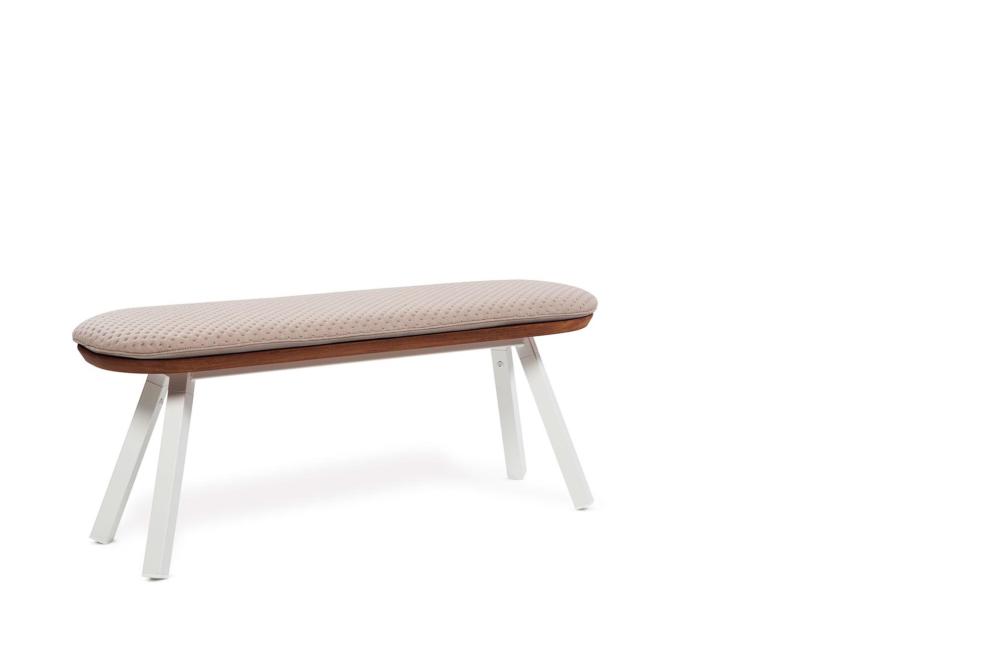 """Sitzkissen zur Sitzbank 120 cm """"In- & Outdoor"""" - Design YM von RS Barcelona"""
