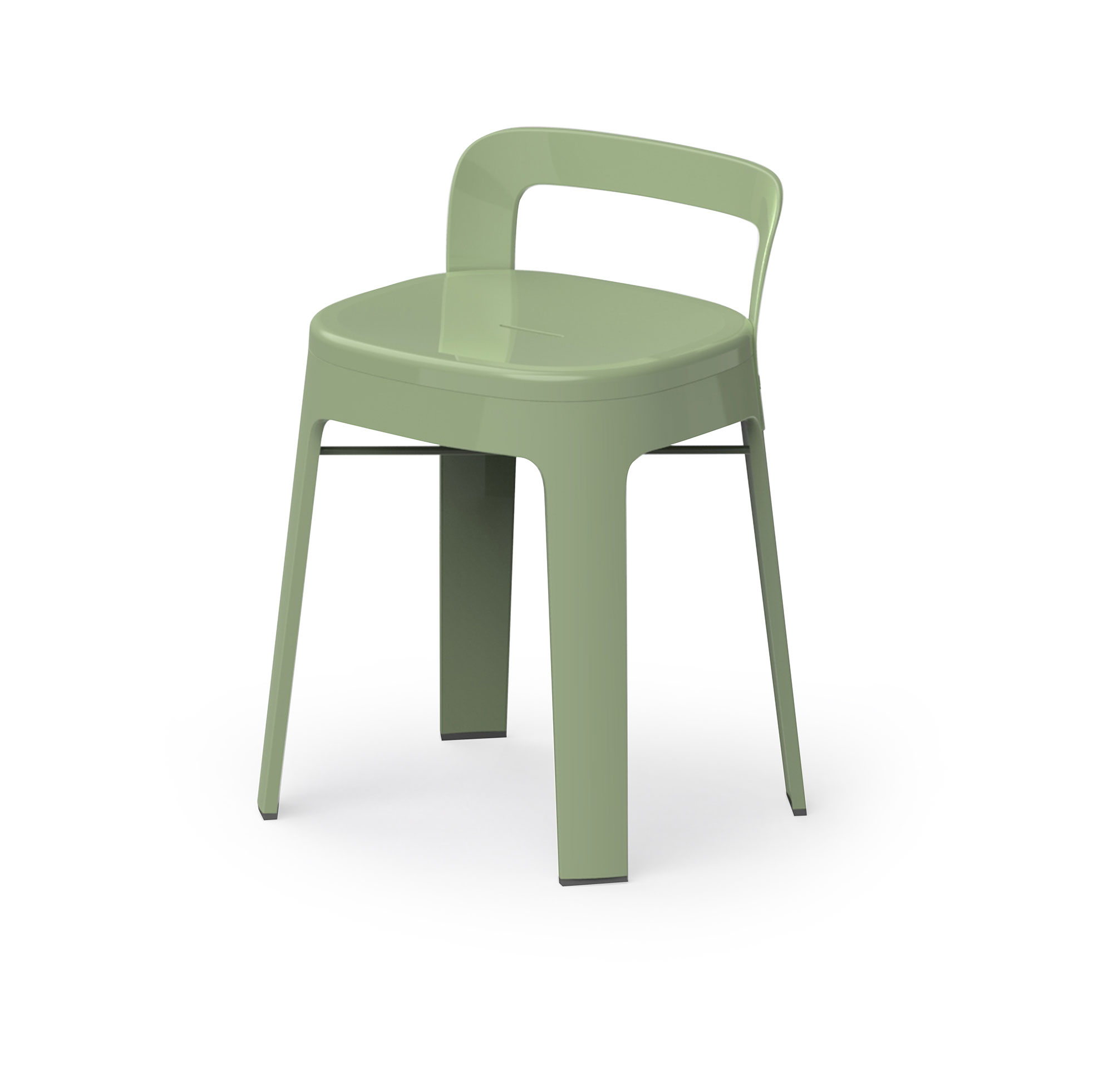 "Hocker mit Lehne ""To Go"" - Design OMBRA LOW von RS Barcelona"